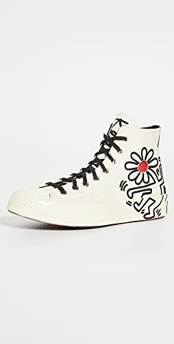 Converse - x Keith Haring Chuck 70 High Top Sneakers