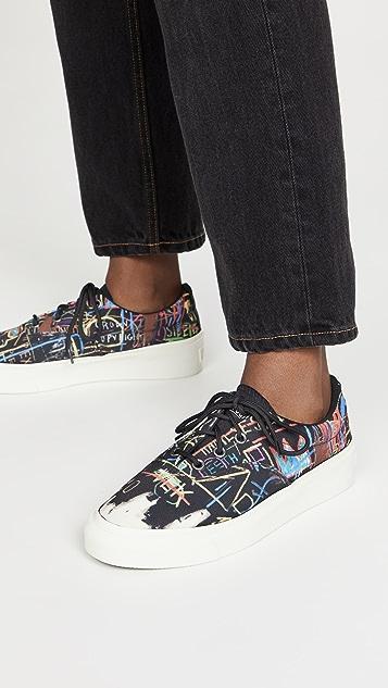 Converse x Basquiat Skid Grip Sneakers