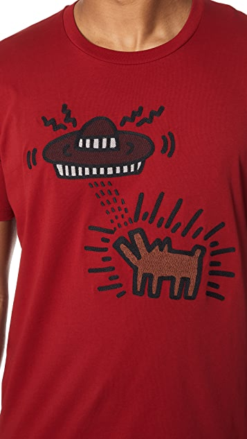 Coach 1941 x Keith Haring UFO Dog Tee Shirt