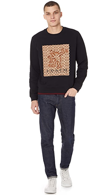 Coach 1941 x Keith Haring Dancing Dog Sweatshirt
