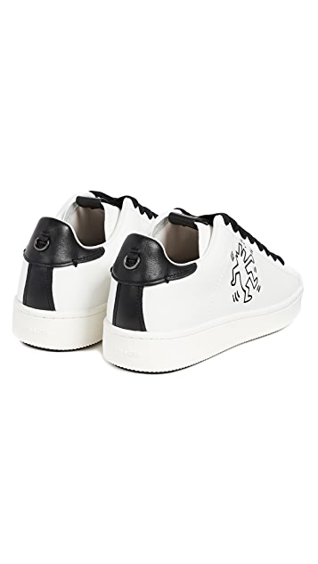 Coach 1941 x Keith Haring Barking Dog Low Top Sneakers