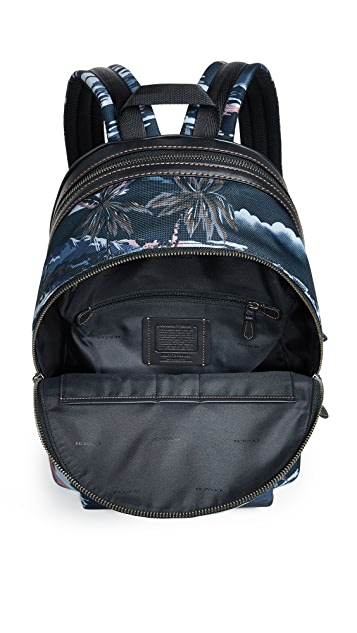 Coach 1941 x Keith Haring Cordura Monster Mixed Material Backpack