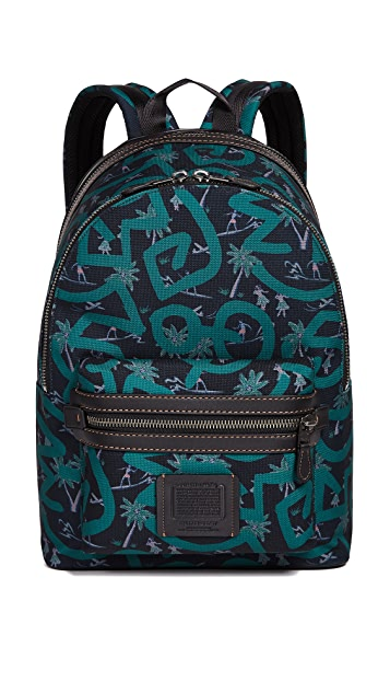 Coach 1941 x Keith Haring Cordura Mixed Material Backpack