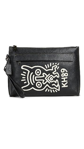 Coach 1941 x Keith Haring Glovetan Pouch