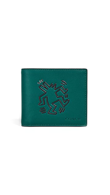 Coach 1941 x Keith Haring Glovetan Double Bill Wallet
