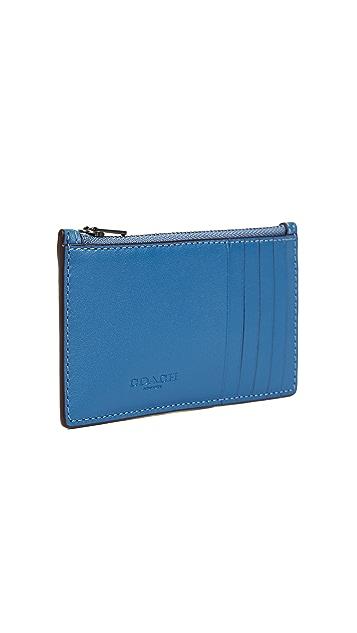 Coach 1941 x Keith Haring Glovetan Zip Card Case