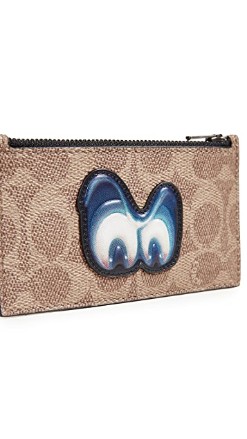 Coach 1941 x Disney Zip Card Case