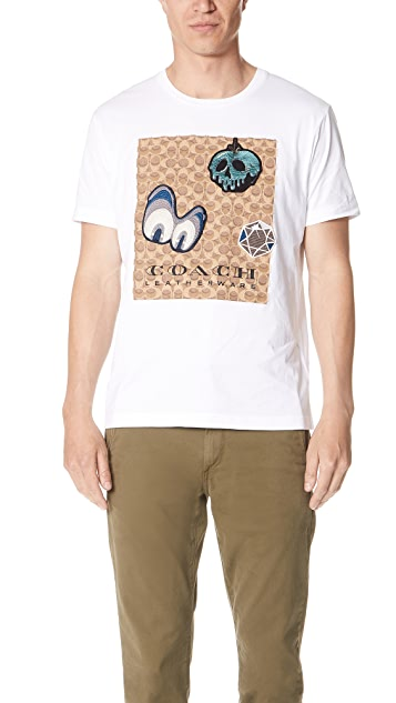 Coach 1941 x Disney Signature Patch Tee