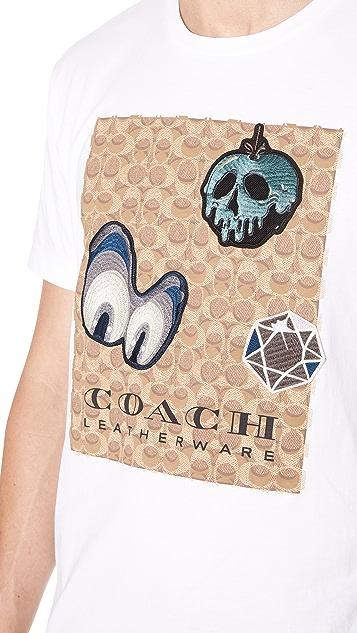 Coach 1941 x Disney Signature Patch Tee