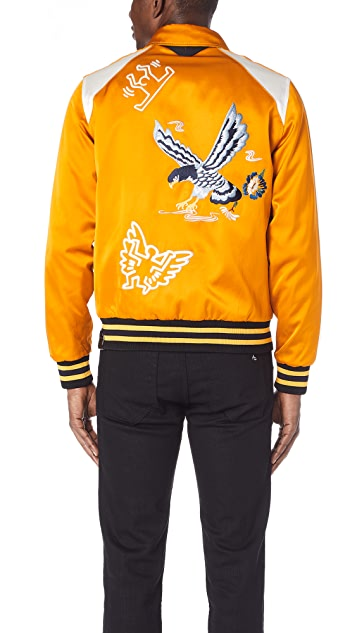 Coach 1941 x Keith Haring Eagle Car Souvenir Jacket