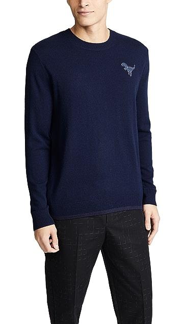 Coach 1941 Rexy Patch Crew Sweater