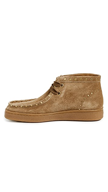 Coach 1941 Suede Studded Hybrid Wallabee Boots