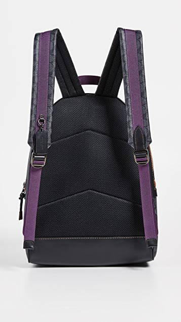 Coach 1941 Signature Academy Backpack with Coach Patch