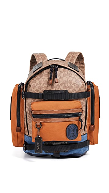 Coach 1941 Signature Ridge Backpack with Coach Patch
