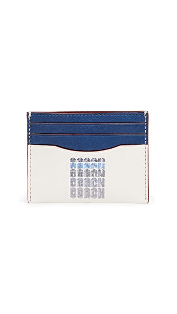 Coach 1941 Repeating Logo Card Case