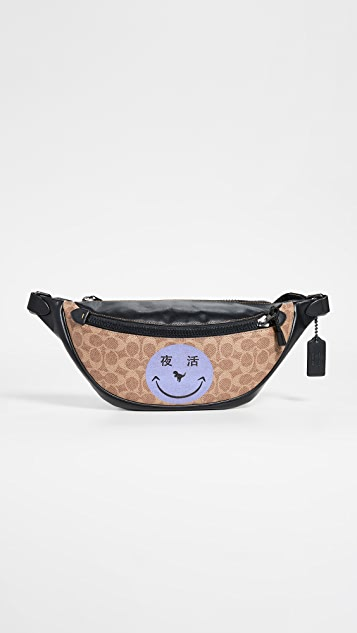 Coach 1941 x Yeti Out Rivington Smiley Face Utility Pack