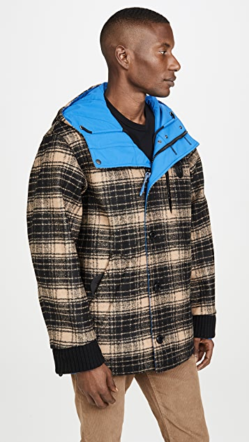 Coach 1941 Reversible Plaid Jacket