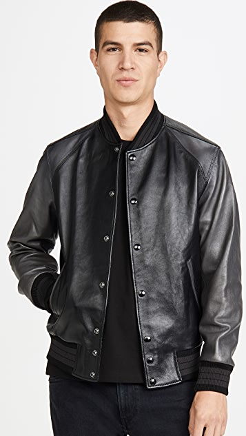 Coach 1941 Leather Varsity Jacket