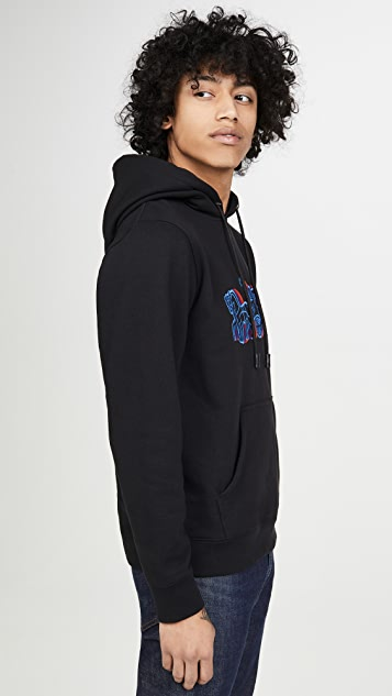 Coach 1941 Horse And Carriage Logo Pullover Hoodie