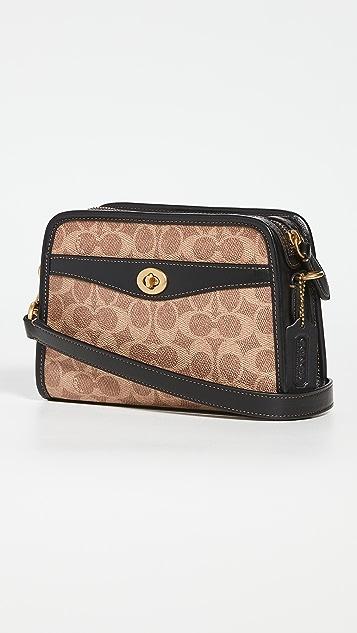 Coach 1941 Signature Front Pocket Messenger Bag