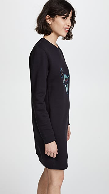 Coach 1941 Rexy Sweatshirt Dress
