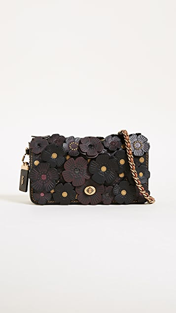 Coach 1941 Tea Rose Applique Dinky Cross Body Bag  6322b50d941df