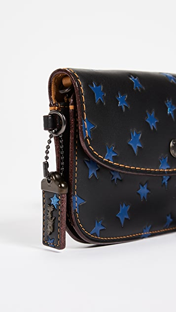Coach 1941 Star Print Clutch