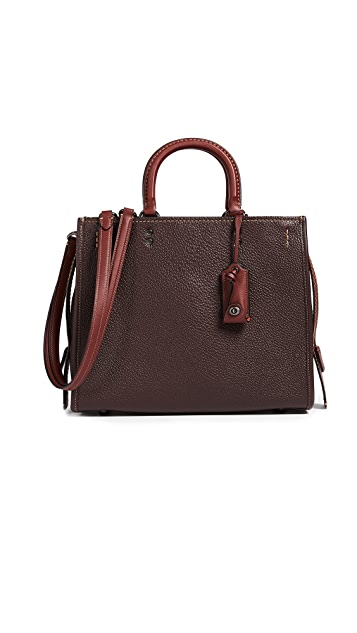 Coach 1941 Rogue Pebble Leather Bag