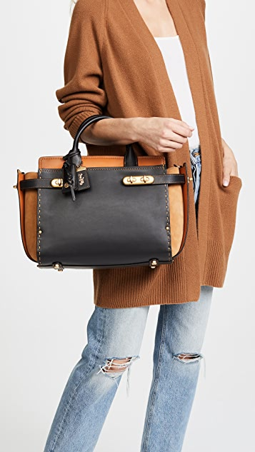 Coach 1941 Double Coach Swagger Bag