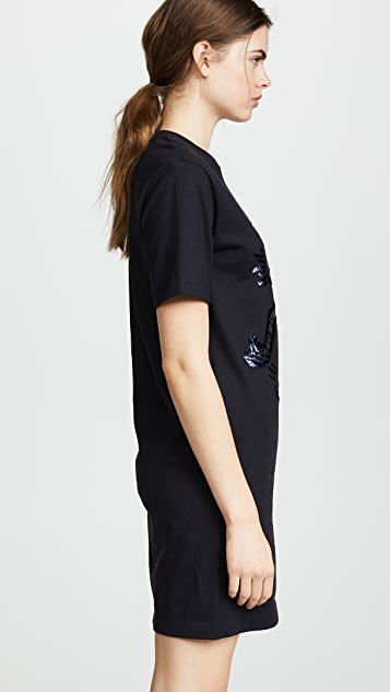 Coach 1941 x Keith Haring Embellished T-Shirt Dress