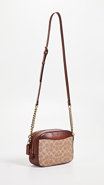 Coach 1941 Signature Patchwork Camera Bag