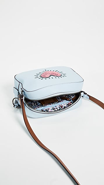Coach 1941 KH Heart Camera Bag