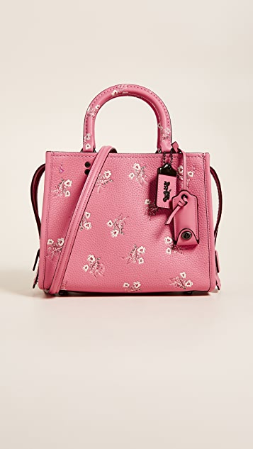 Coach Rogue 25 With Floral Bow Print Coach l7l0pB3