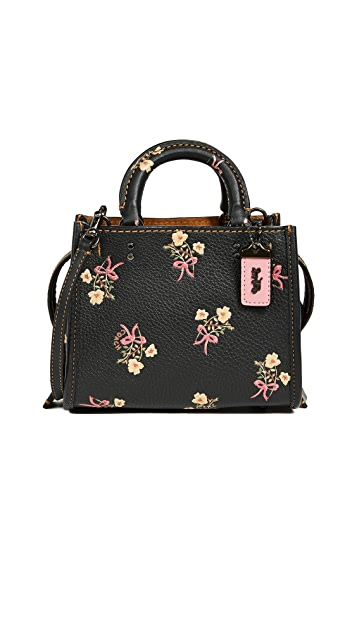 Coach 1941 Floral Bow Print Rogue Bag 17