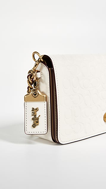 Coach 1941 Signature Leather Dinky Cross Body Bag