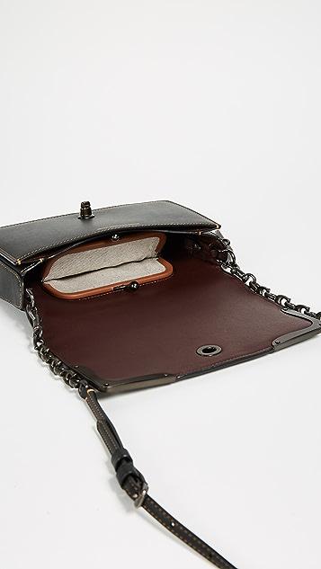 Coach 1941 Metal Tea Rose Dinky Bag