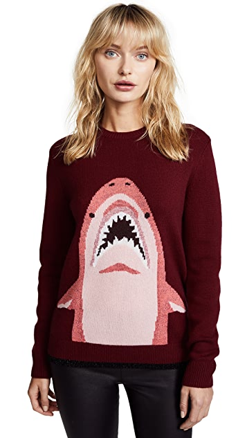 Coach 1941 Sharky Intarsia Sweater