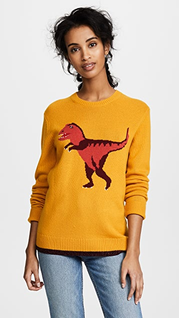 Coach 1941 Rexy Intarsia Sweater