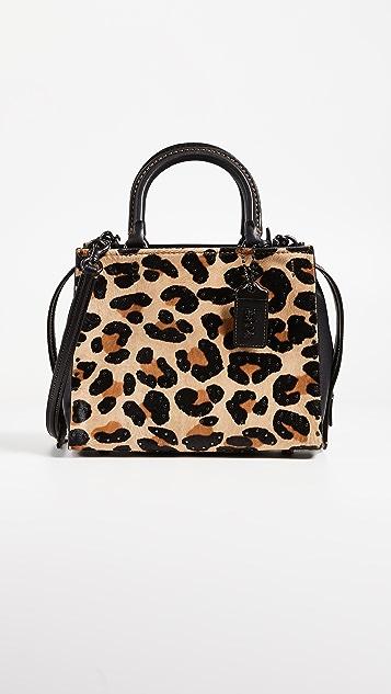 Coach 1941 Leopard Rogue Bag 25