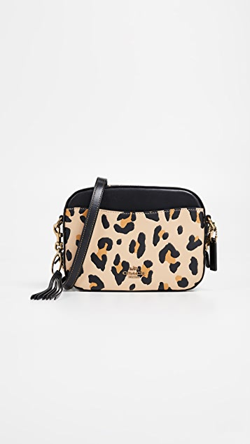 Coach 1941 Leopard Camera Bag