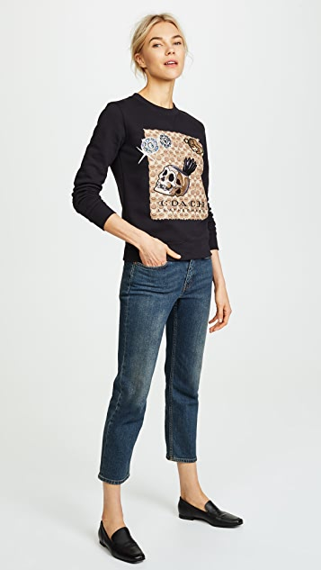 Coach 1941 x Disney Signature C Sweatshirt
