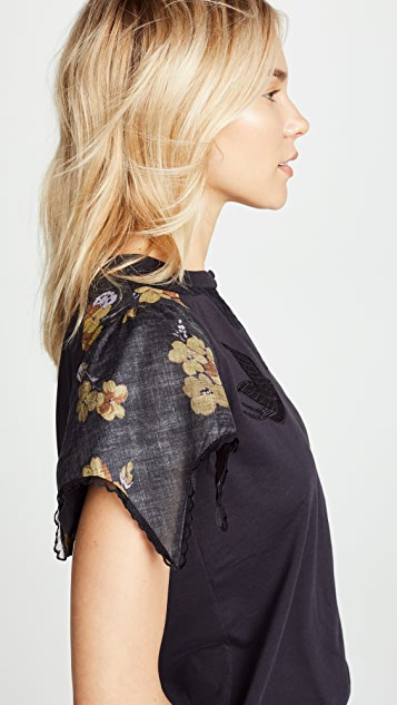 Coach 1941 Lace Embroidered T-Shirt