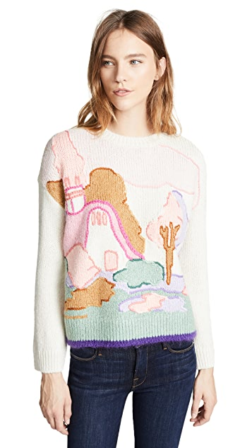 Coach 1941 Spooky Cottage Sweater