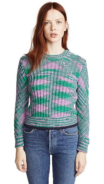 Coach 1941 Space Dye Crew Neck Sweater