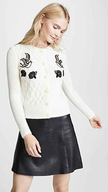 Coach 1941 Embroidery Cardigan