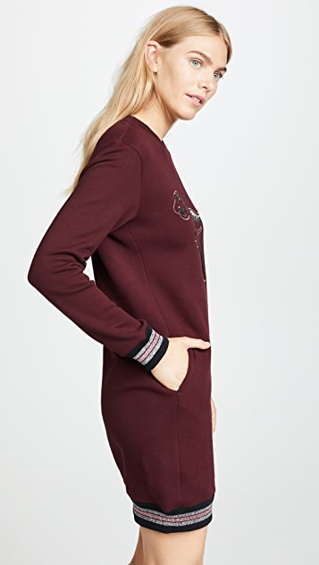 Coach 1941 Rexy Sweatshirt Dress