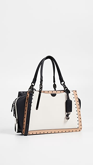 Coach 1941 Border Rivets Colorblock Dreamer Bag