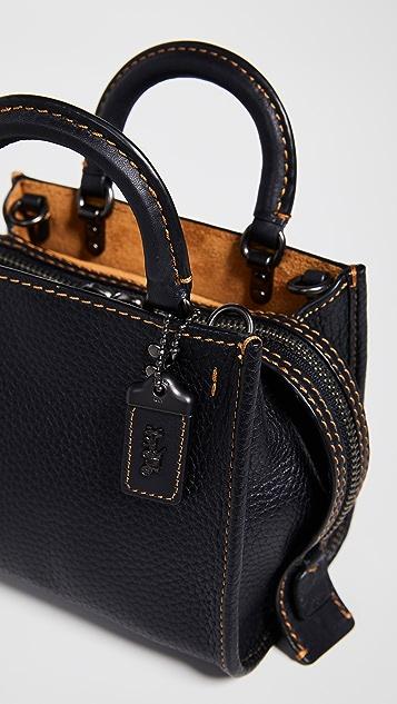 f38c2449171 ... Coach 1941 Glovetanned Pebble Rogue Bag 17 ...