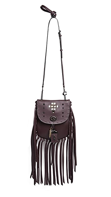 Coach 1941 Pyramid Crossbody Saddle Bag