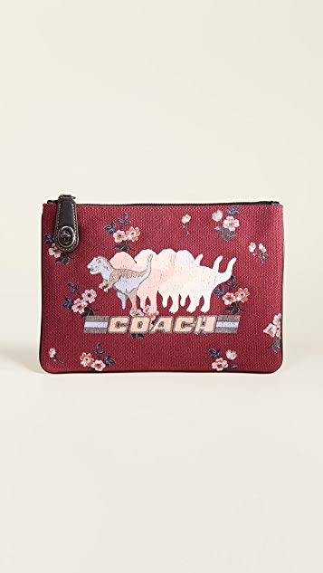 Coach 1941 Shadow Rexy Canvas Pouch